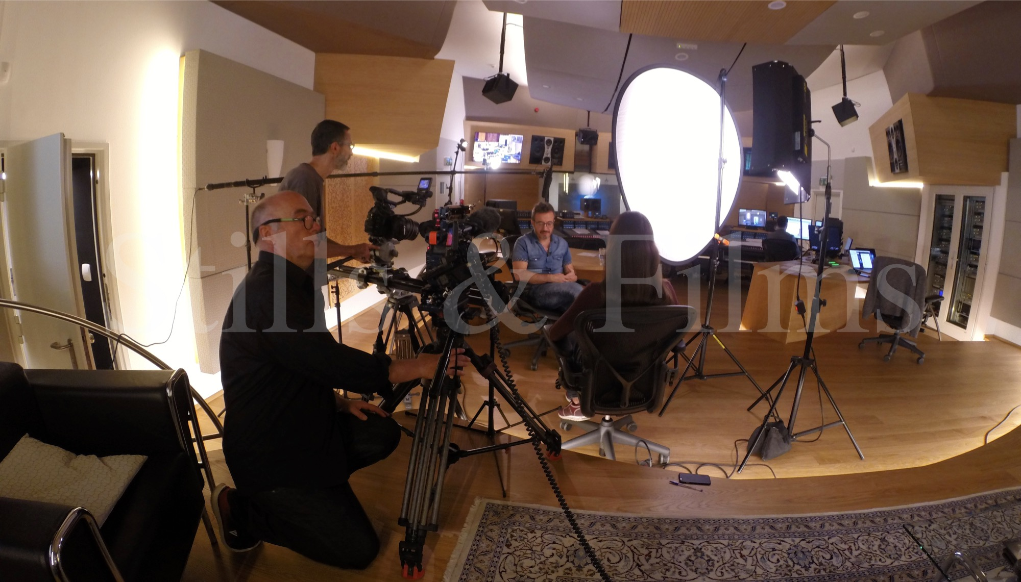 Video Crew Vienna filming at Synchron Stage